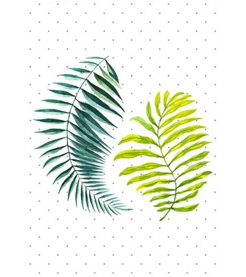 tropsko lišće dekor