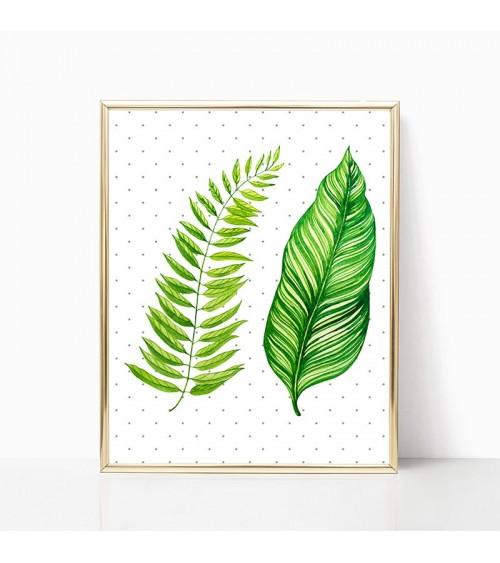 tropsko lišće