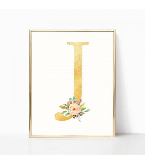 dekorativna slova sa cvećem