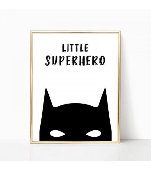 little superhero batman posteri za zid