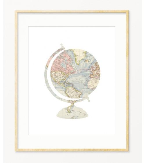 Posteri sa temom geografija za dnevnu sobu