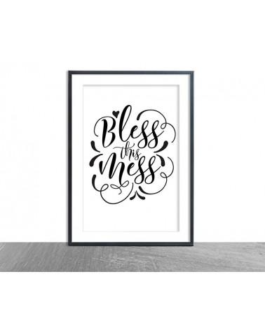 Crno beli posteri sa porukama