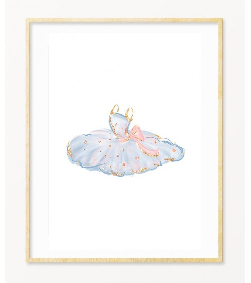 Bela baletska pačka slike i printovi za zid online prodaja