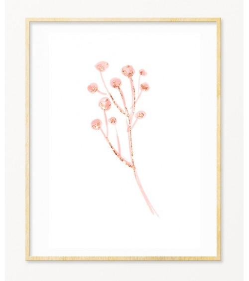 Cveće roze zlato slike za devojčice