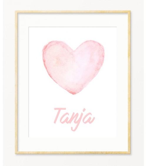 Slike Srculence personalizovani poklon za bebu devojčicu