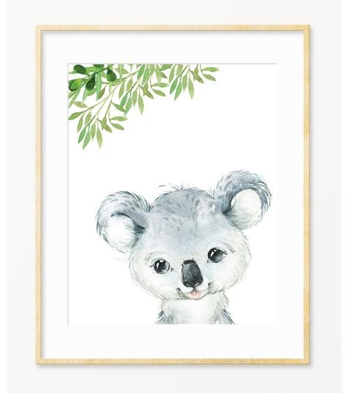 Koala dekorativni zidni posteri za bebine sobe