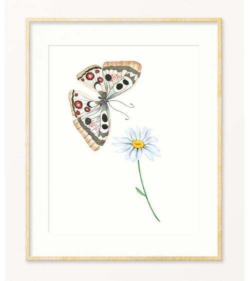 Slike sa leptirima za bebine sobe