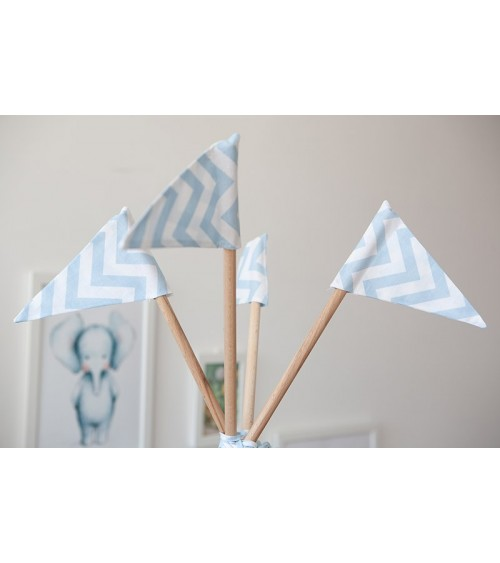 Zastavice za dečiji šator