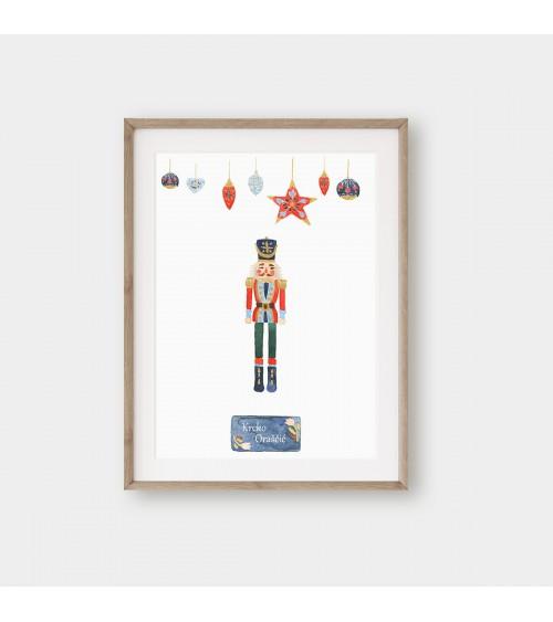 Krcko oraščić dekorativni pokloni za novu godinu