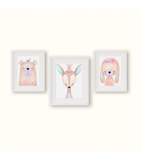 Set postera za devojčicu