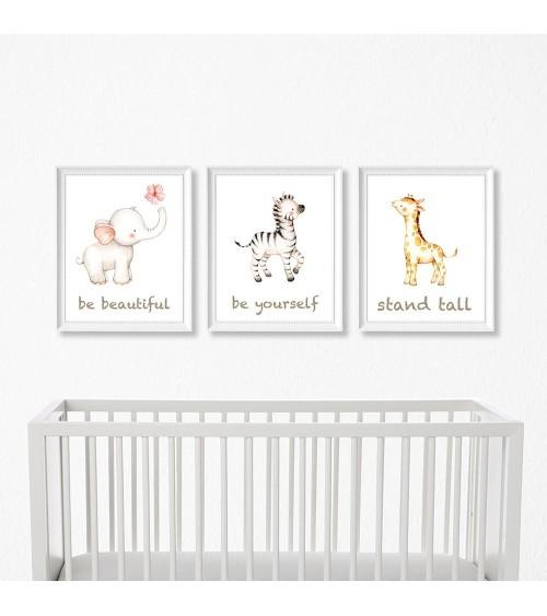 Set postera za bebin kutak...