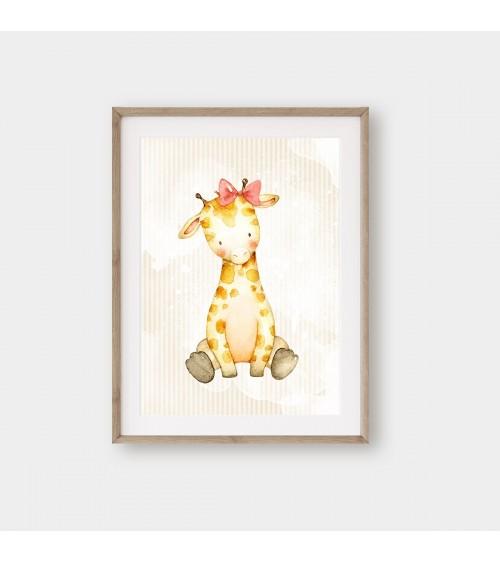 ŽIRAFA posteri za bebine sobe