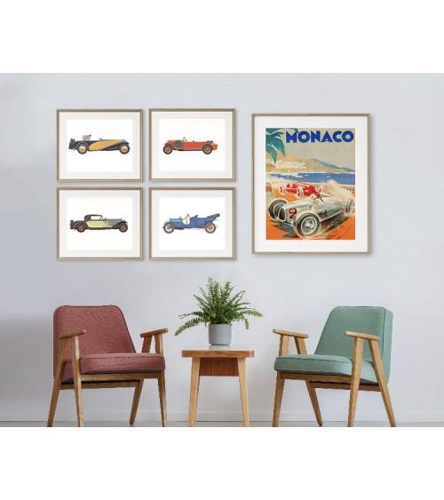 Oldtajmeri set postera za radnu sobu