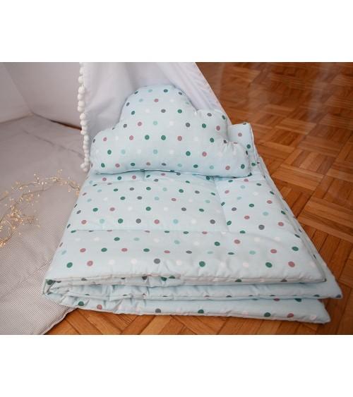 Komplet prostirka i jastuk za dečiji šator VIGVAMIJA