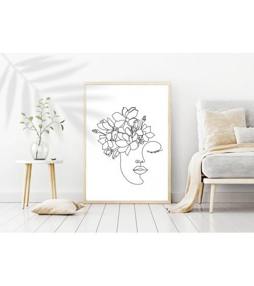 Flora zidni poster za uramljivanje