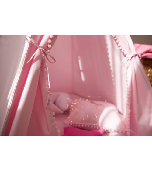 Roze šator za decu